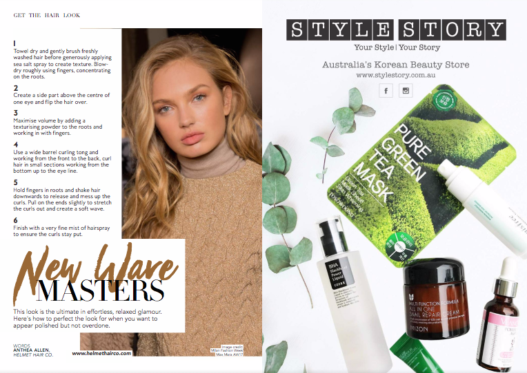 Style Story In Fashion Weekly Magazine