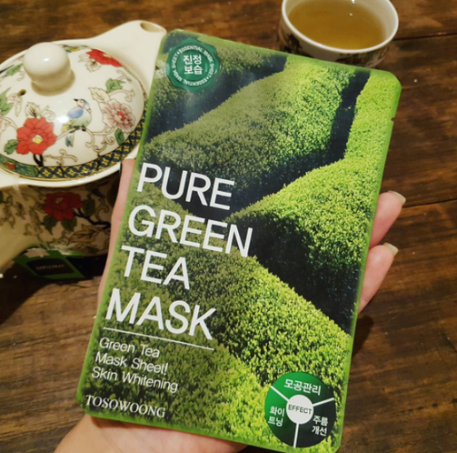Tosowoong Pure Green Tea Mask Review