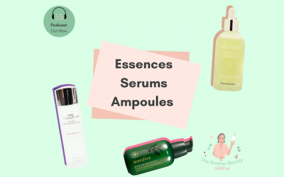 What's The Difference Between An Essence, Serum And Ampoule? Ep-18