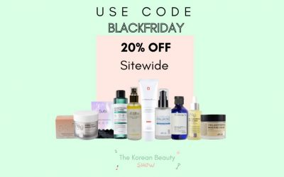 The Best K-Beauty Products to Pick Up  at the Black Friday Sales Ep-29