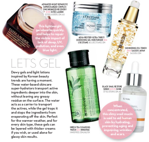 Style Story Serum In Ok! Magazine