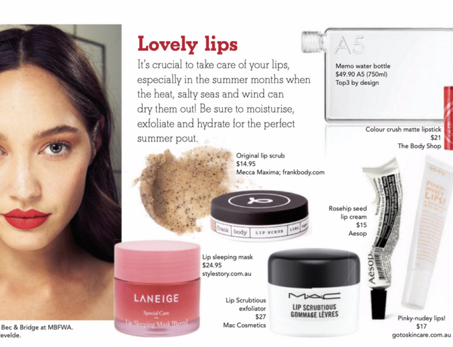 Laneige Lip Sleeping Mask In The Canberra Weekly