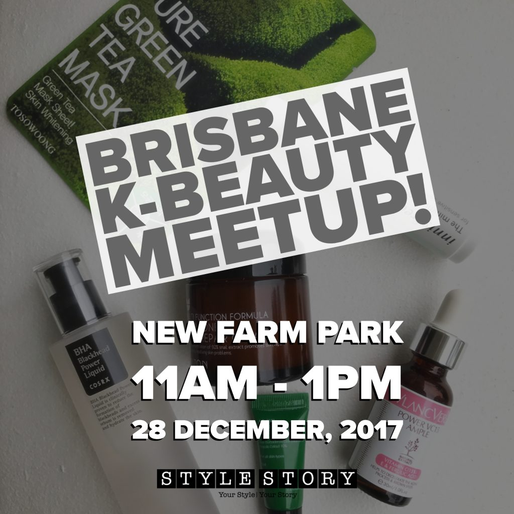 Brisbane K-beauty Meetup!
