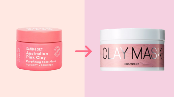 K-beauty Dupe For Sand & Sky Pink Clay Mask