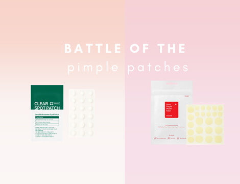 Battle Of The Pimple Patches - SOME BY MI v COSRX