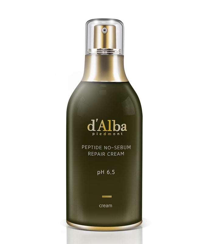 d'Alba Piedmont Peptide No Sebum Repair Cream