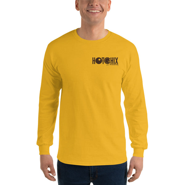 No Fork And Knife Required Long Sleeve Shirt Front And Back Print