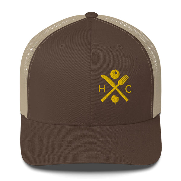 Fork And Knife Trucker Cap