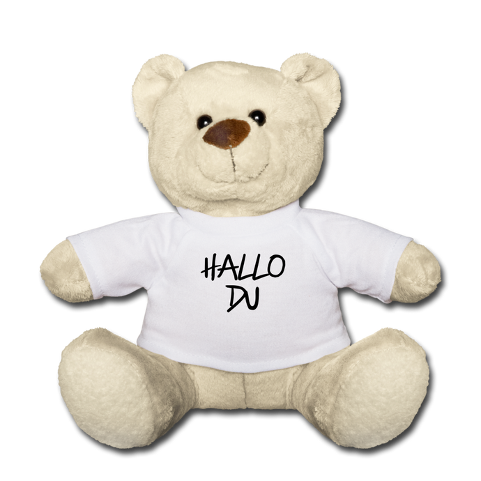 Hallo Du - Teddy Bear - Weiß