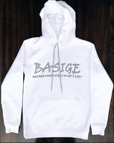 White Intro Hoodie