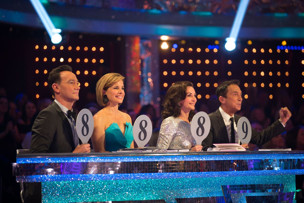 Scores at the ready: Craig Revel Horwood, Dame Darcey Bussell, Shirley Ballas, Bruno Tonioli / BBC/Guy Levy