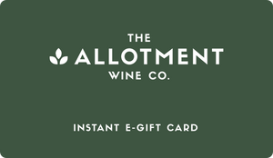 Gift Card for The Allotment Wine Co.