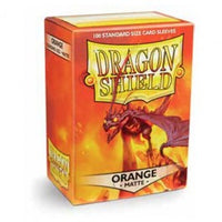 Dragon Shield 100ct Box Deck Protector Matte Orange