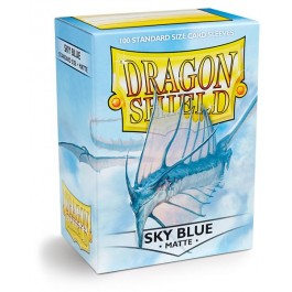 Dragon Shield 100ct Box Deck Protector Matte Sky Blue