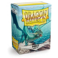 Dragon Shield 100ct Box Deck Protector Matte Mint