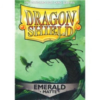 Dragon Shield 100CT Box Matte Emerald