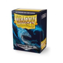 Dragon Shield 100ct Box Matte Night Blue