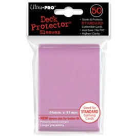 Ultra Pro Sleeves: Pink Standard 50ct