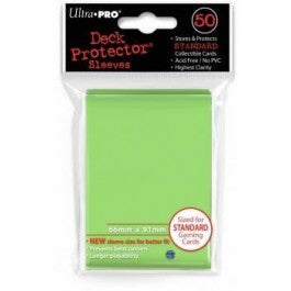 Ultra Pro Sleeves: Lime Green Standard 50ct
