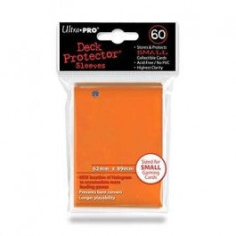 Ultra Pro Sleeves: Small Orange 60 Ct