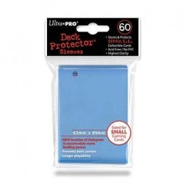 Ultra Pro Sleeves: Small Light Blue 60 Ct