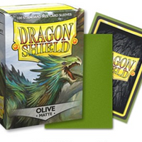Dragon Shield Matte Standard Olive