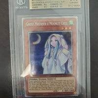 Yugioh Ghost Mourner & Moonlit Chill Prismatic 1st ETCO-EN036 BGS 9.5 GEM MINT