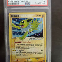 Pokémon PSA 8 NM-MT Jolteon Gold Star 101/108 EX Power Keepers Ultra Rare Holo