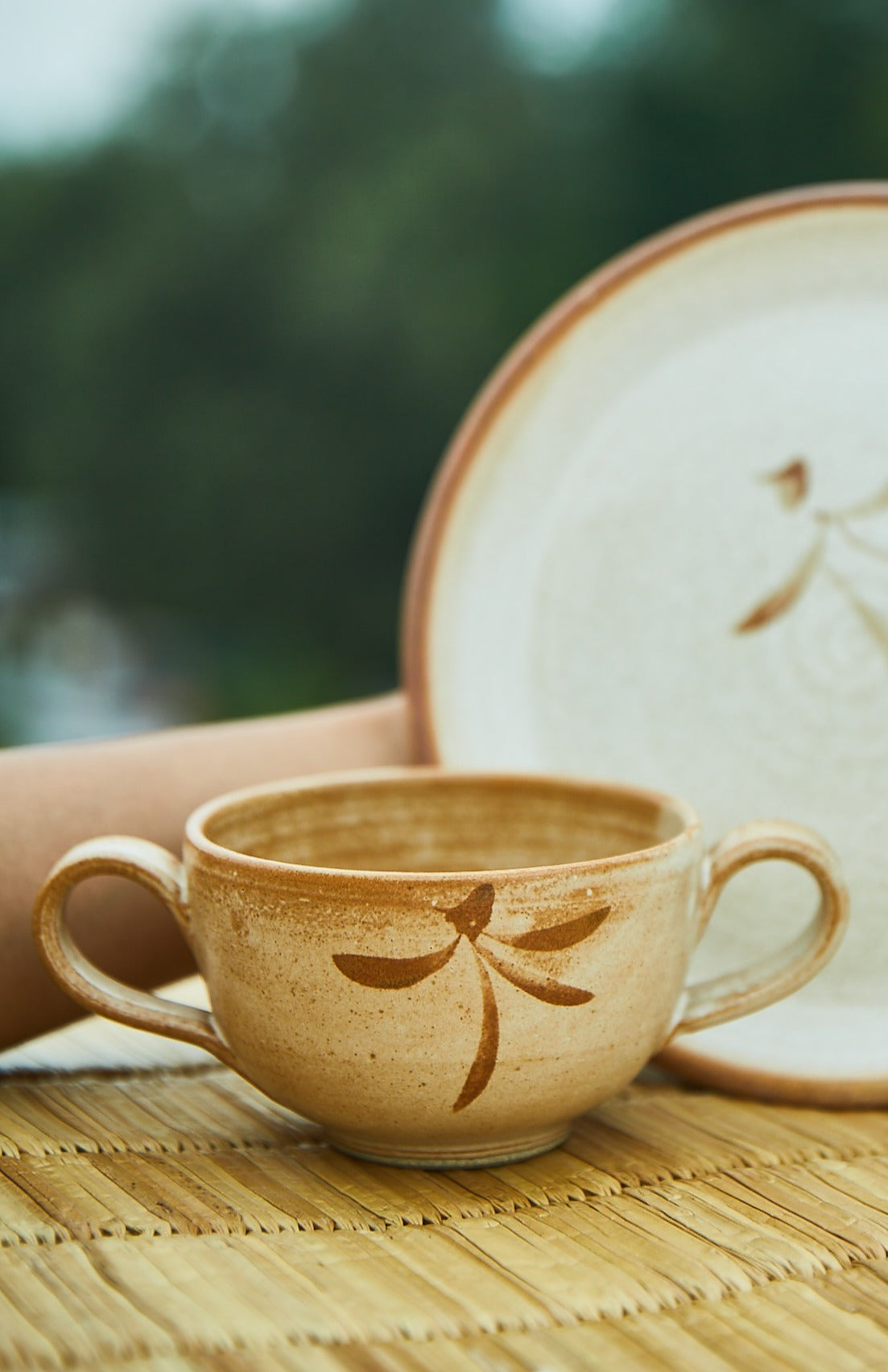 Rustic cup/bowl