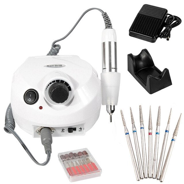 35000RPM Electric Nail Drill Machine Electric Manicure Machine - BeautyForTen