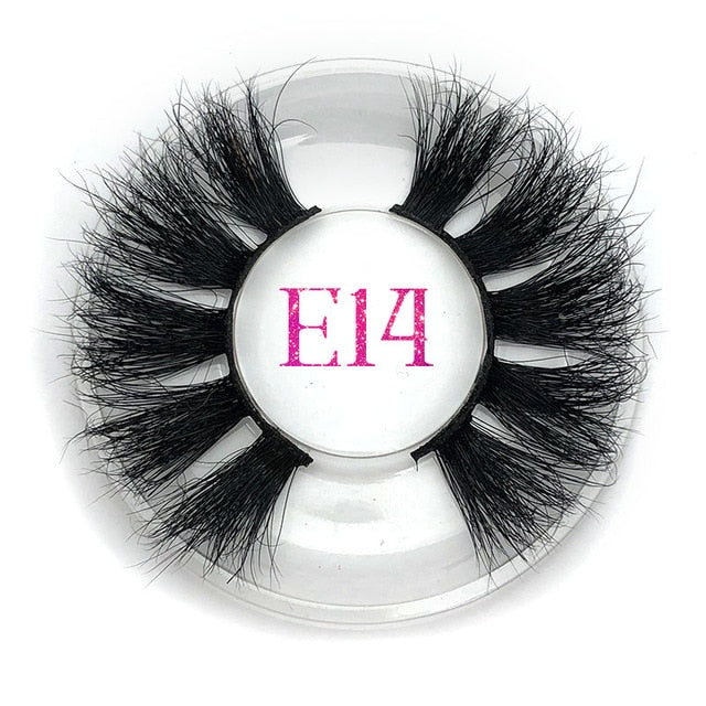 Mikiwi 25mm False Eyelashes Wholesale Thick Strip - BeautyForTen