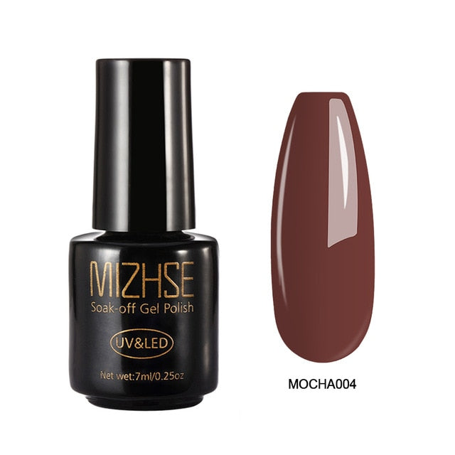 MIZHSE  Gel Varnish Nail Polish 7ML Pumpkin Series Nail Gel - BeautyForTen