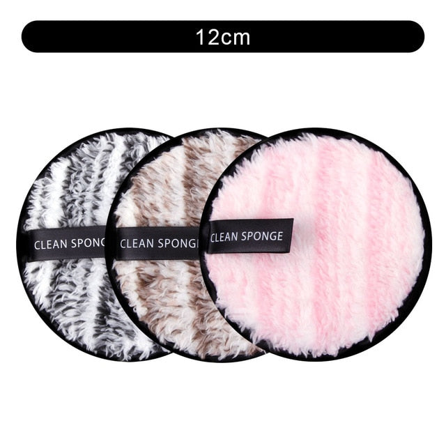 3/4/8Pcs Makeup Remover Cloth Reusable