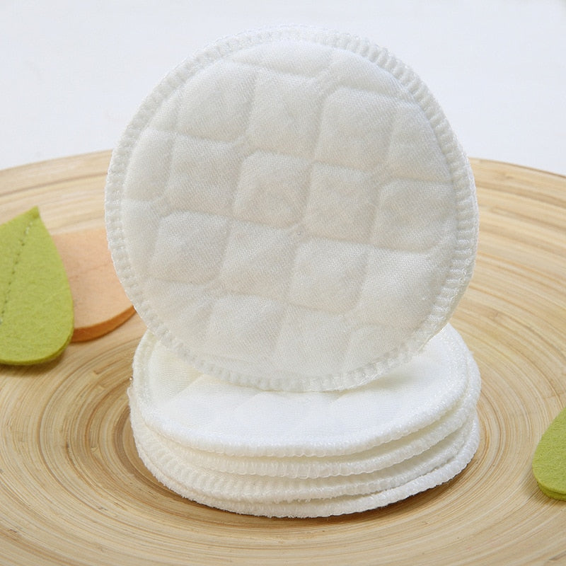 10pcs Washable Cotton Reusable Make Up Remover Pad - BeautyForTen