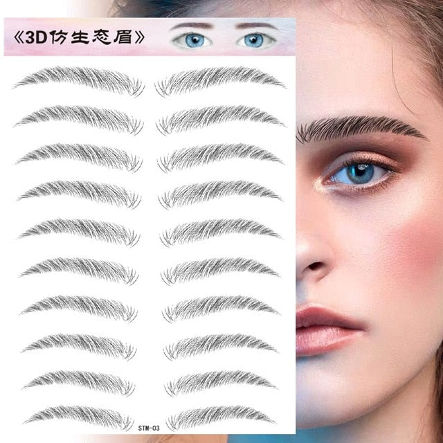 4D Hair Like Eyebrows - BeautyForTen