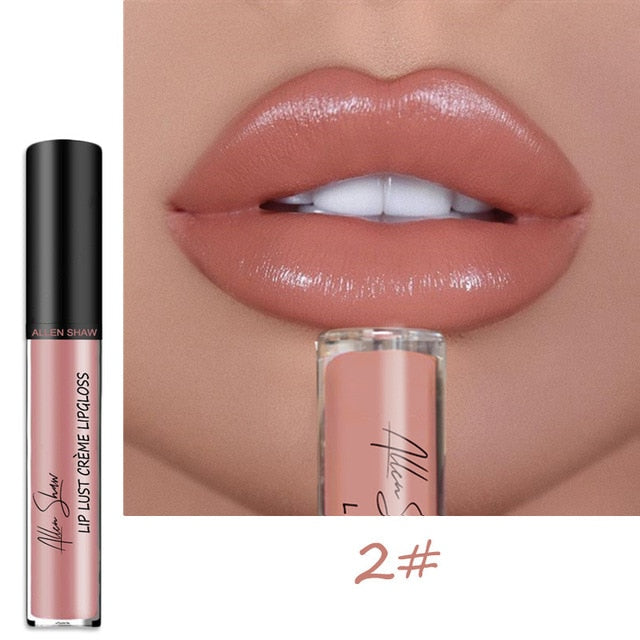 Waterproof Long Lasting Moist Lip Gloss - BeautyForTen
