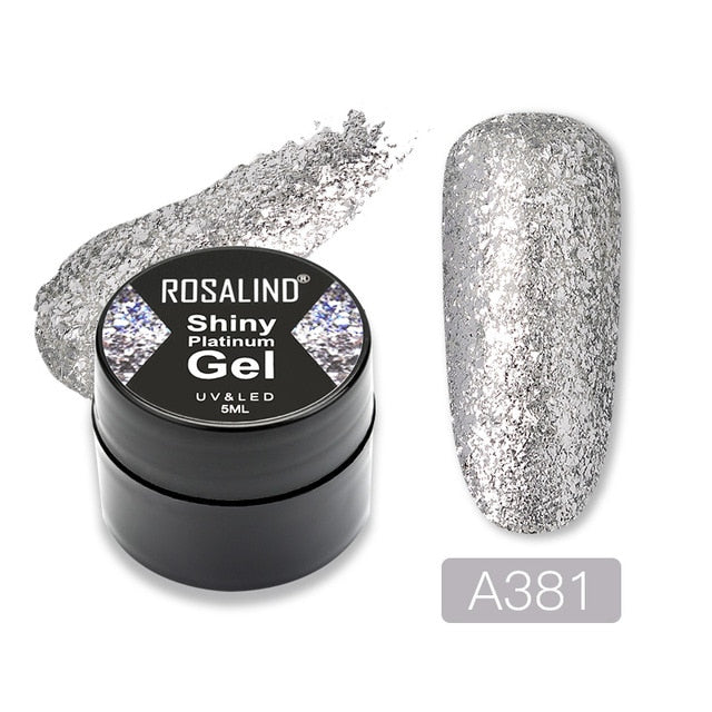 Nail Varnishes Shiny Polish Glitter - BeautyForTen