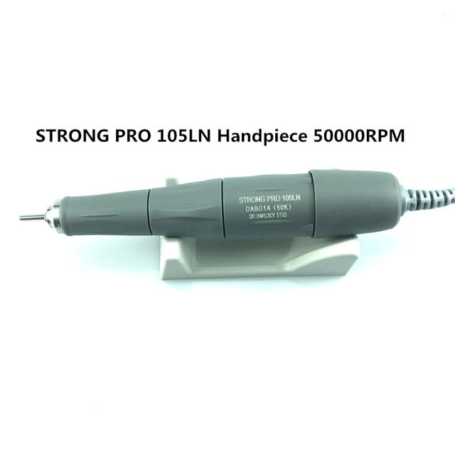 45K/50K NEW STRONG 210 PLUS 105 PRO 105LN Handle  Electric Manicure Drill - BeautyForTen