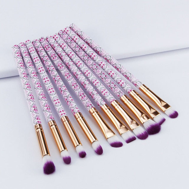 5/10pcs Makeup Brushes Sets Highlighter - BeautyForTen