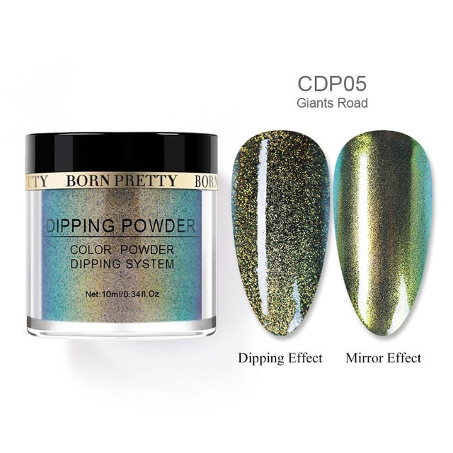 BORN PRETTY Chameleon Dip Nail Powder Shining