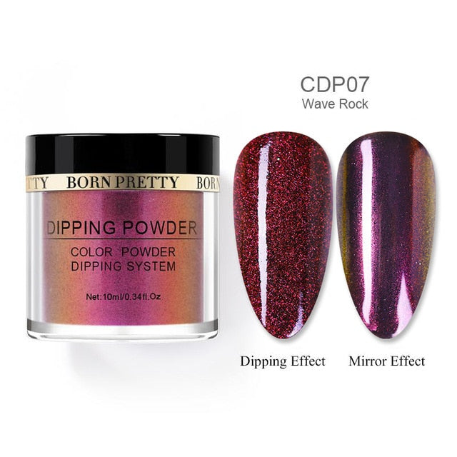 BORN PRETTY Chameleon Dip Nail Powder Shining - BeautyForTen