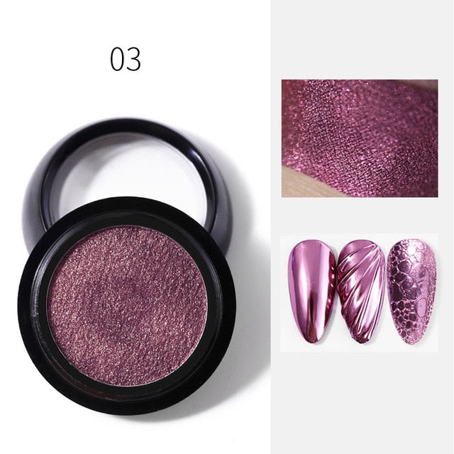 2020 Hot Holographics Nail Powders Mirror - BeautyForTen