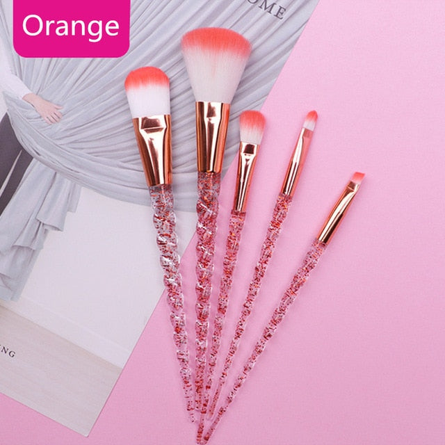 10pcs Unicorn Makeup Brushes Sets Maquiagem - BeautyForTen