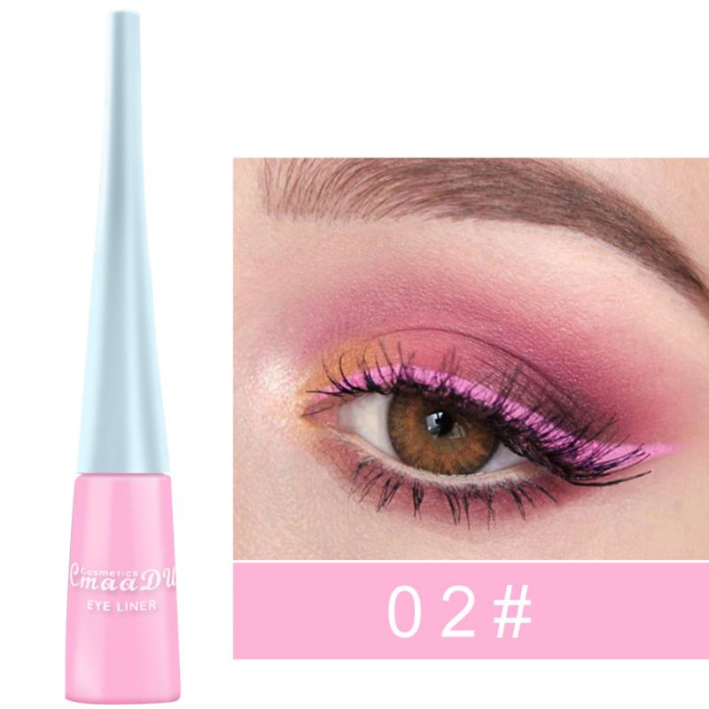 12 Color Liquid Matte Eyeliner Pencil - BeautyForTen