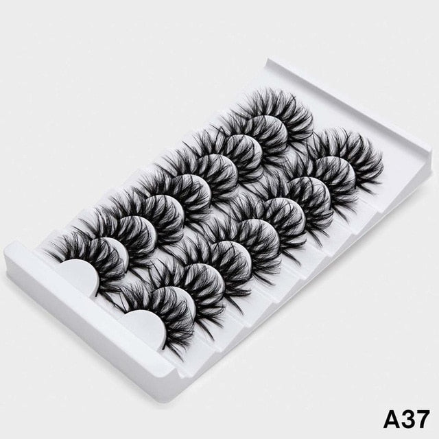 SEXYSHEEP 5/8 pairs 3D Mink Lashes Natural False Eyelashes - BeautyForTen