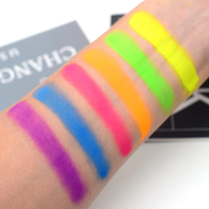 Mixed Neon Eyeshadow Powder - BeautyForTen