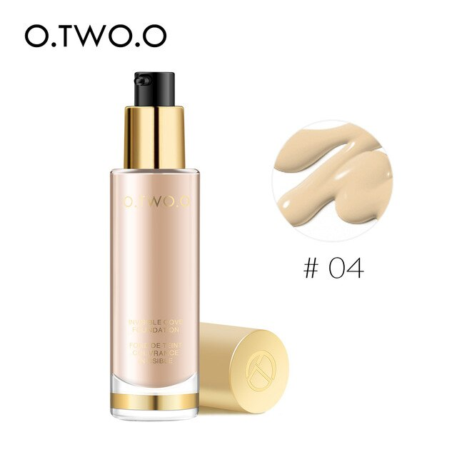 O.TWO.O Liquid Foundation Invisible Full Coverage Make Up - BeautyForTen