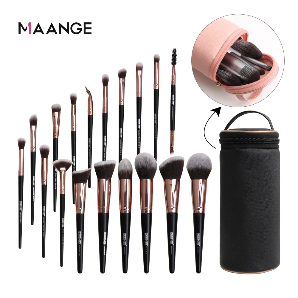 MAANGE Makeup brushes set professional - BeautyForTen