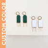 Enamel Collection - KATE Post Earrings