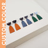 Enamel Collection - NORA Post Earrings